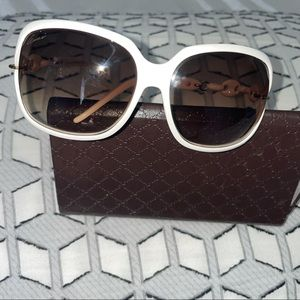 Gucci white woman's shades